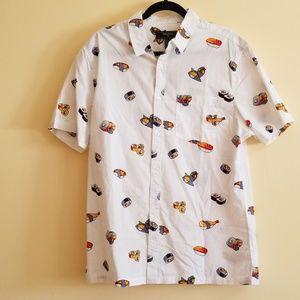 Button-down Sushi Shirt